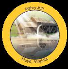 Mabry Mill Sticker