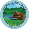 Collectible sticker for Mayo River State Park