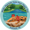 Collectible sticker for Medoc Mountain State Park