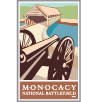 Collectible sticker for Monocacy National Battlefield