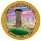 Mount Roosevelt Friendship Tower Sticker