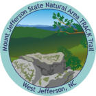 Collectible sticker for Mount Jefferson State Park