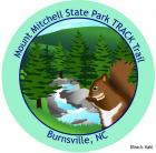 Collectible sticker for Mount Mitchell