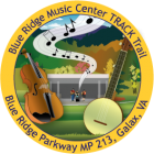 Collectible sticker for the Blue Ridge Music Center