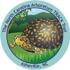 Collectible sticker for North Carolina Arboretum