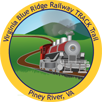 Collectible sticker for Blue Ridge Railway Trail