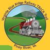Collectible sticker for Blue Ridge Railway Trail