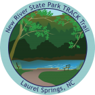 New River State Park TRACK Trail sticker
