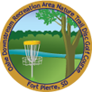 Oahe Downstream Recreation Area Nature Trail Disc Golf Course sticker