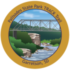 Collectible sticker for Palisades State Park
