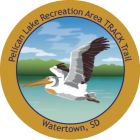 Collectible sticker for Pelican Lake