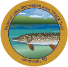 Collectible sticker for Pickerel Lake