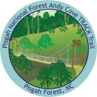 Andy Cove TRACK  Trail sticker