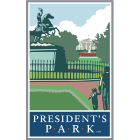 Collectible Sticker For President's Park