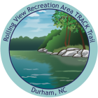 Collectible sticker for Rolling View Recreation Area