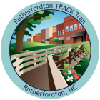 Collectible sticker for Rutherfordton