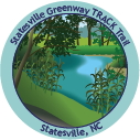 Collectible sticker for Statesville Greenway