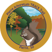 Collectible sticker for Pierre Native Plant Arboretum