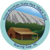 Collectible sticker for Stone Mountain State Park