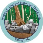 Collectible sticker for William B. Umstead State Park