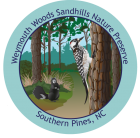 Collectible sticker for Weymouth Woods