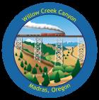 Willow Creek Canyon Sticker