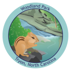 Collectible sticker for Woodland Park