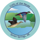 Collectible Sticker for Cliffs of the Neuse
