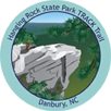 Collectible sticker for Hanging Rock State Park