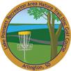 Disc golf sticker