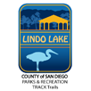 Collectible sticker for Lindo Lake