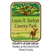 Collectible sticker for Louis A. Stelzer County Park