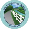 Collectible Sticker for Mount Airy's Emily B. Taylor Greenway