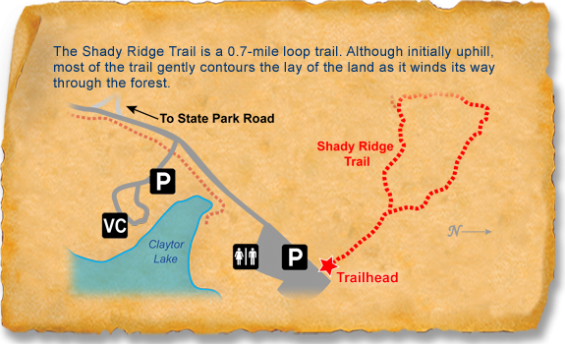 Claytor lake TRACK Trail sticker map