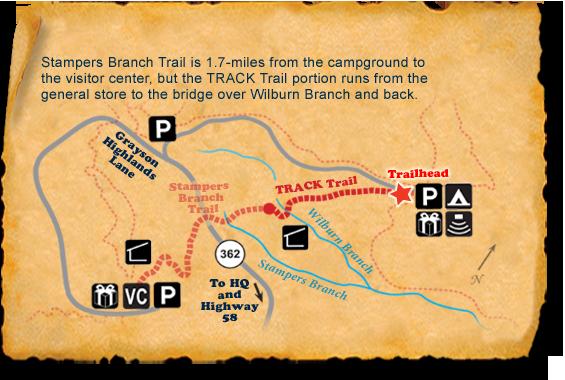 Grayson Highlands TRACK Trail map