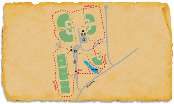 TRACK Trail Map at Granville Athletic Park