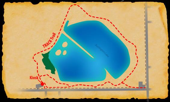 Map of McManamen Park TRACK Trail
