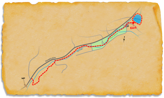 Map of TRACK Trail