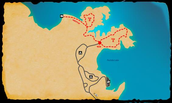 Map of Osprey TRACK Trail