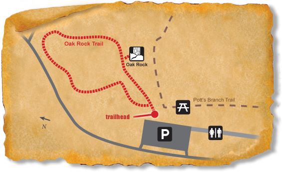 Map of TRACK Trail at William B. Umstead State Park