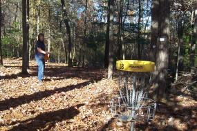 hole 18 on the course