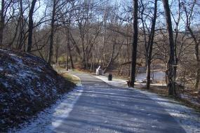 Paved Mount Airy Ararat River TRACK Trail