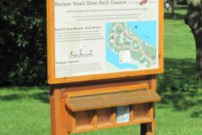 informational kiosk for the course