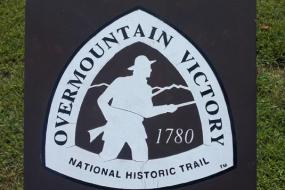Overmountain Victory Trail sign