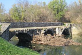 Conococheague Aqueduct over canal
