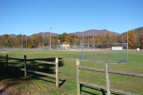 Recreational ball fields