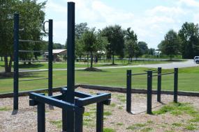 Gymnastic playground