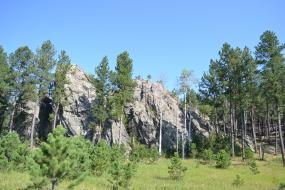 Large rock formation