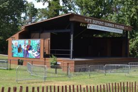 Ft. Dupont Summer Theater stage