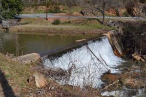River spillway
